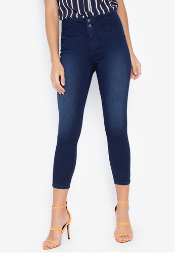 on feet images of sneakers clear-cut texture High Waist Jeans