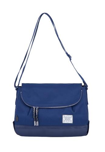 Caterpillar Bags & Travel Gear navy Essential Rebel Round Shoulder Bag CA540AC23FAAHK_1