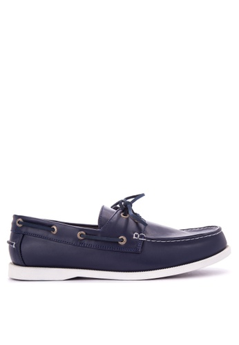 H2Ocean blue Truman Boat Shoes H2527SH0KAJ6PH_1