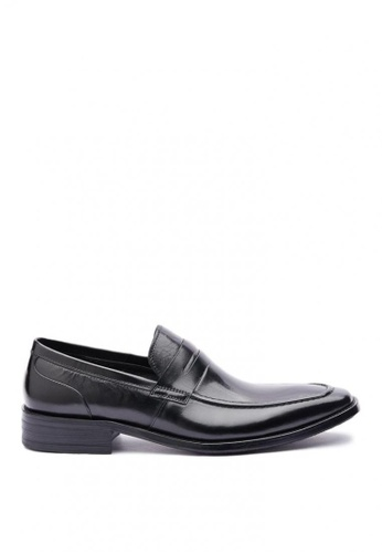 Kings Collection black Baldwin Classic Loafer 8DA46SH939272EGS_1