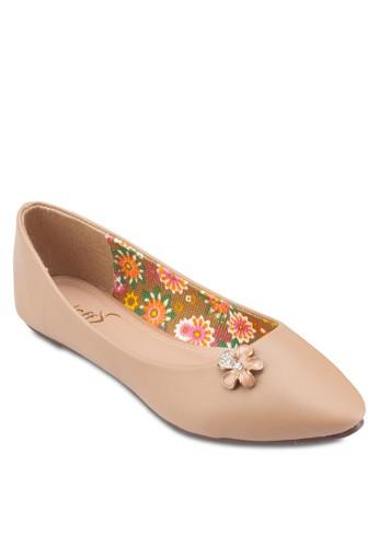 Dainty Flats, esprit hk outlet女鞋, 芭蕾平底鞋
