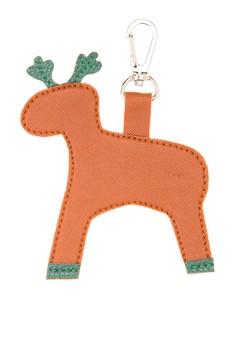 Tan Reindeer Keychain/Bagcharm