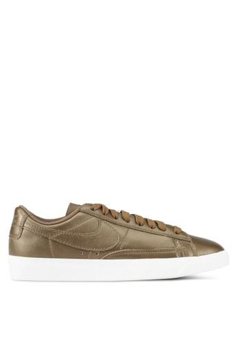 Nike gold Women's Nike Blazer Low LE Shoes NI126SH0SHGJMY_1. CLICK TO ZOOM