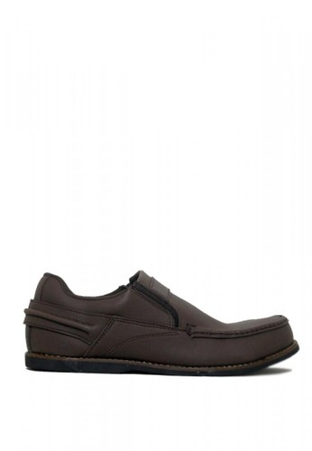 D-Island brown D-Island Shoes Comfort Low Alpha Leather Brown AF565SHF82D1BDGS_1