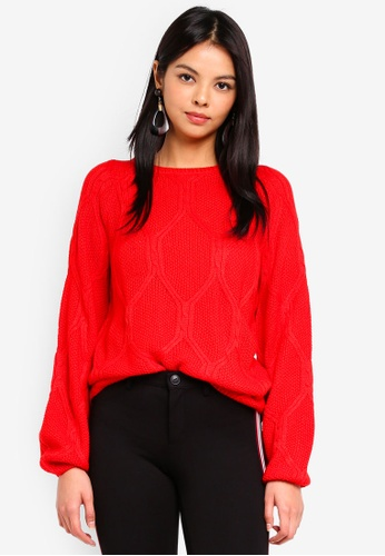 ONLY red Felina Pullover 3CD54AA2512CA3GS_1