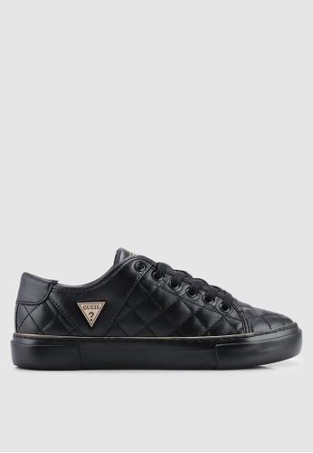 Guess 黑色 Goodone 菱格紋運動鞋 0595FSH45F755DGS_1