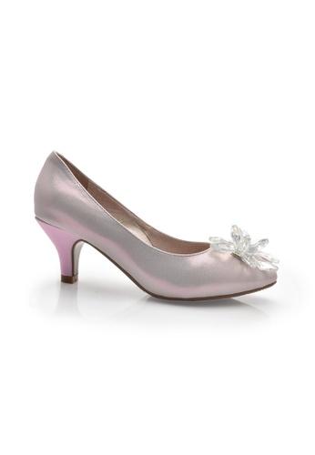 Elisa Litz pink Rellas Heels (Pink) EL365SH82ZIVSG_1