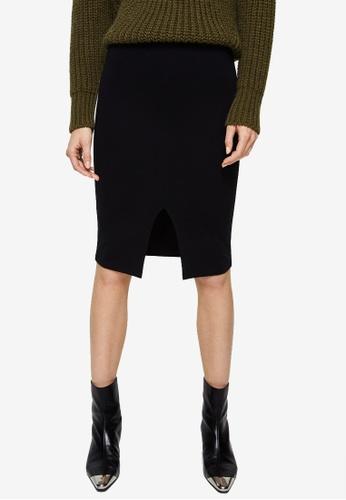 Mango black Skirt D40E5AAB8F7A33GS_1