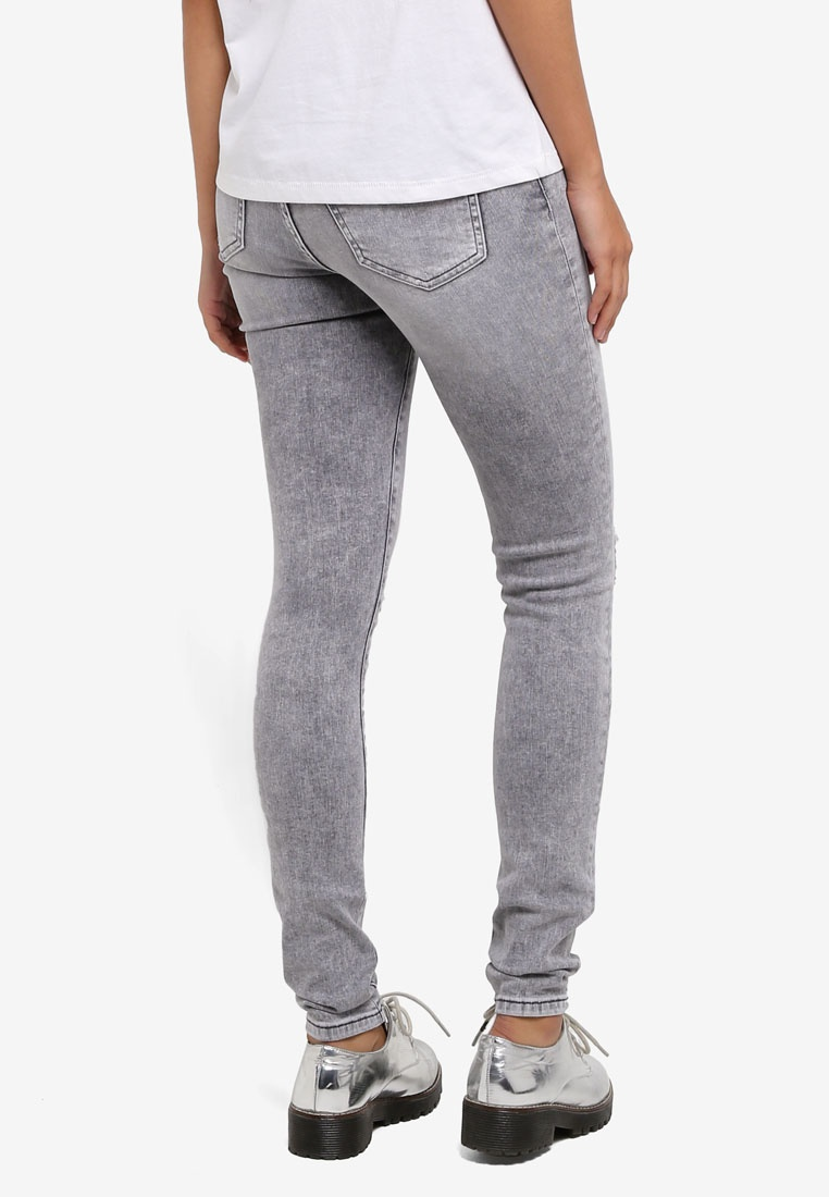 ONLY ONE Light Grey Jeans ONLY Shaping r6aBFrq
