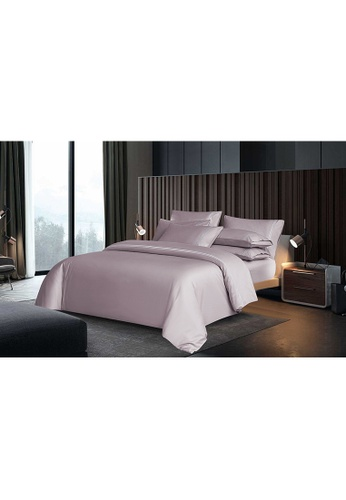 Canopy pink Canopy Luxe Elegant 100% USA Cotton Fitted Sheet Set 54F09HL9A45CD0GS_1