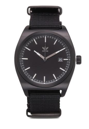 Adidas black adidas originals Process W2 Watch D62F1AC77EFDB9GS_1