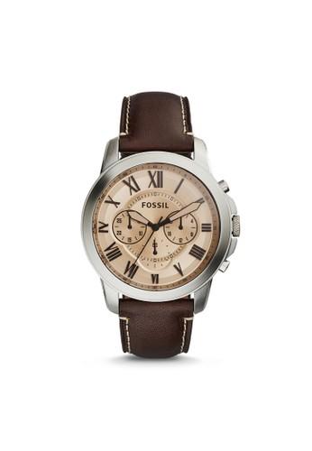Fossil GRANT紳士型男錶 FS5152esprit outlet 台中, 錶類, 紳士錶