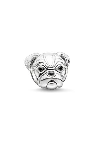 """THOMAS SABO silver Bead """"pug"""" C160BACFFABE2AGS_1"""
