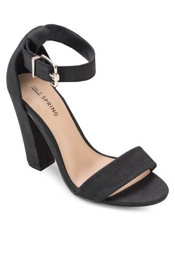 Arther 繞踝包跟粗跟鞋, 女鞋, esprit home 台灣鞋