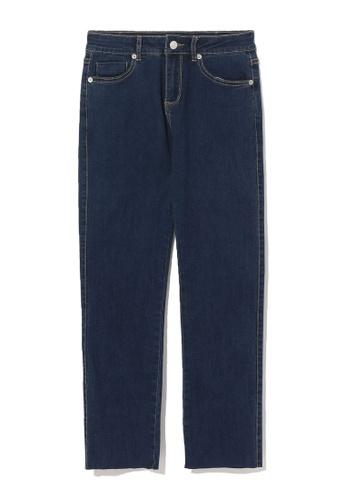 b+ab blue Crop skinny jeans 0A12BAA623BC25GS_1