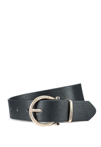 Pieces black Jannika Jeans Belt C0CBFAC3B24DB1GS_1