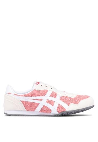 Onitsuka Tiger red Serrano Sneakers 9FE2CSHCFA80A4GS_1