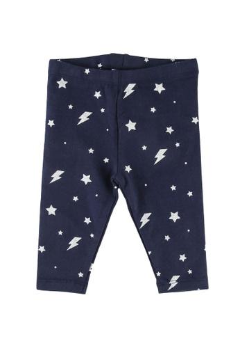 FOX Kids & Baby navy Baby-Girls All Over Print Leggings 4E406KA963C065GS_1