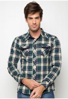Jason Long Sleeve Checkered