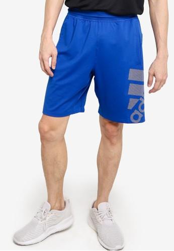 ADIDAS blue 4krft sport graphic shorts 64608AAD442191GS_1