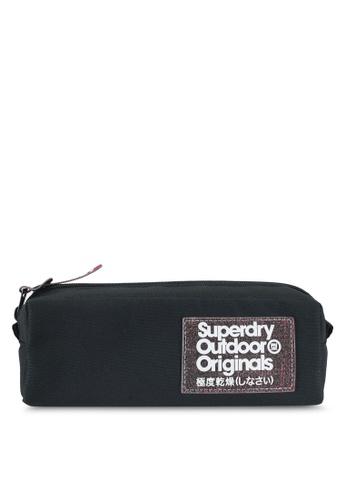 Superdry black Cinda Montana Pencil Case 42B84ACACDAEFDGS_1