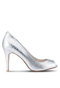 Image of Dinaa Peep Toe High Heel Court Pumps
