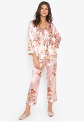 FEMINISM pink Robe Set 6B9CFAAFFDE9BDGS_1