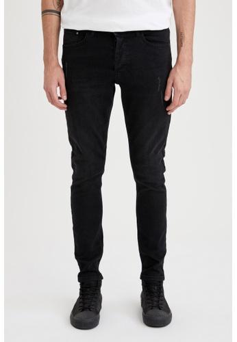 DeFacto black Super Skinny Trousers 8FA76AA83D2FF1GS_1