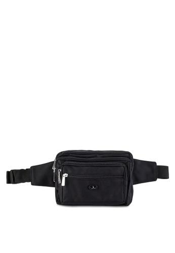 Swiss Polo black Swiss Polo Waist Bag SW912AC74DRLMY_1