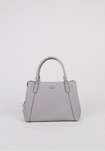 Kate Spade grey Kate Spade Medium Jackson WKR00089 Satchel Bag In Grey 739F0AC18C08E1GS_1