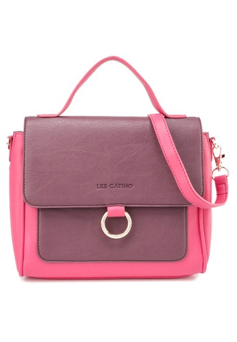 Les Catino pink Afrin Crossbody E8752ACC6A11BBGS_1