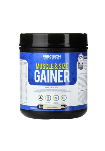 Holland & Barrett Precision Engineered Muscle & Size Gainer Powder Vanilla 681g F1620ESE7D5E18GS_1