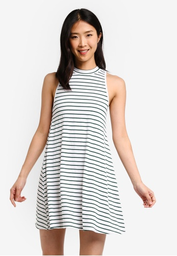 ZALORA BASICS white Basic Sleeveless Dress 72DF1AA7D129E2GS_1