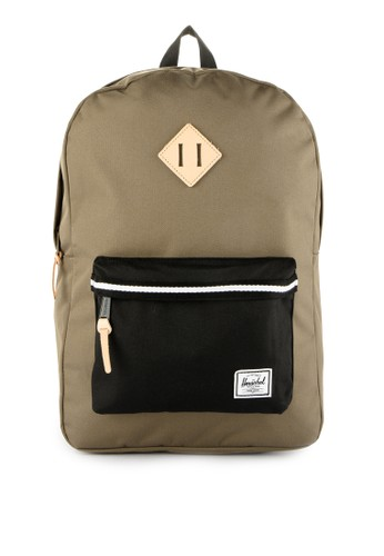 Herschel white Heritage Backpack 1618CAC1C01AC4GS_1