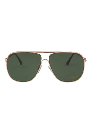 b2f22d9797 Tom Ford gold TOM FORD Dominic Sunglasses FT0451 28N TO545AC82JIFMY 1