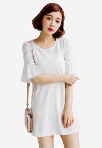 Sesura white Little Missy Top Dress 4E9DCAADC18D5CGS_1