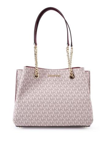 Michael Kors multi Logo Teagan Handbag (nt) 3AA74AC8A5B507GS_1