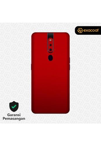 Exacoat Oppo F11 / F11 Pro 3M Skins True Colors - Lust Red 195EAES27E1F5FGS_1