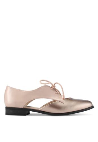 ZALORA gold Pealised Patent Loafers 6E300SH6372188GS_1
