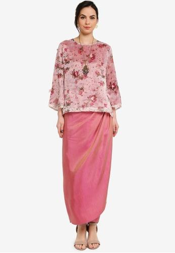 Yans Creation pink AMARILIS Kurung 98316AA780A460GS_1