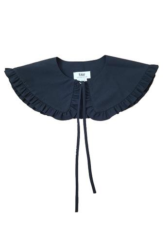 TAV black [Korean Designer Brand] Victoria Collar - Black 69B9AACA13C1DAGS_1