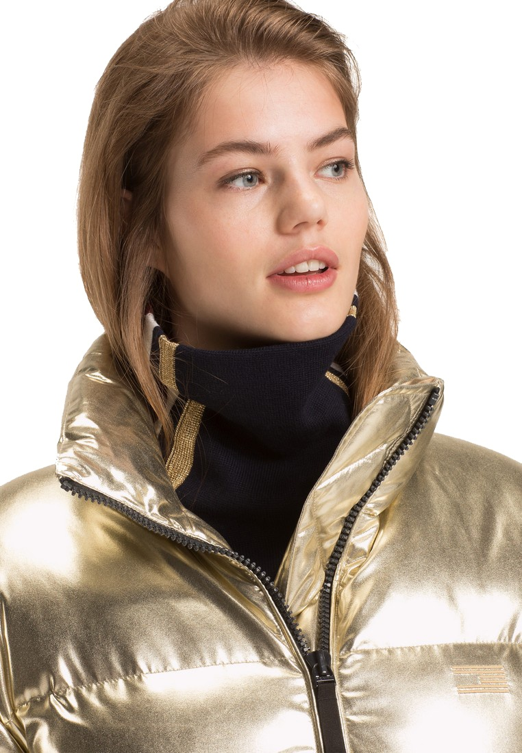 33a1bdc541d PUFFER ICON Rich Tommy HIGH GLOSS Gold Hilfiger zIHqpqP-klausecares.com