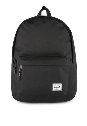 Herschel black Classic Mid-Volume Backpack 5CAB6AC7F6226BGS_1