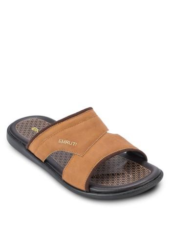 鏤空寬帶esprit 品牌休閒涼鞋, 鞋, 涼鞋及拖鞋