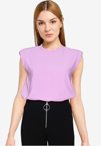 Vero Moda 紫色 Zoe Top 7171BAAE45545AGS_1