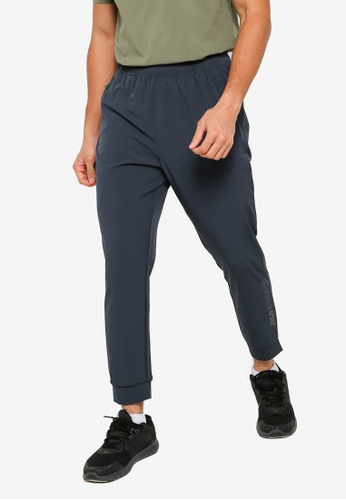 361° navy Running Series Sports Cropped Pants 56941AA6EFBAB1GS_1