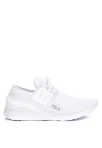 Fila white Maneuver Running Shoes 251CDSHD2283CEGS_1