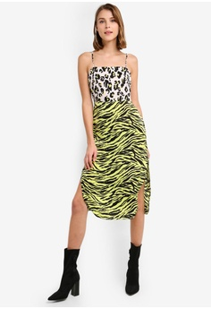 8c17be94bb7 20% OFF Miss Selfridge Mixed Print Fluro Midi Dress S  99.90 NOW S  79.90  Available in several sizes
