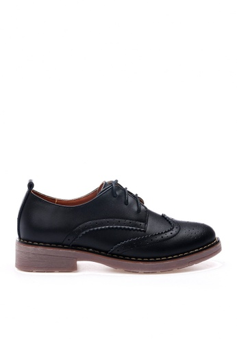 Twenty Eight Shoes black Cow Leather Brogue Shoes VL337 4BCA8SHB6CB750GS_1
