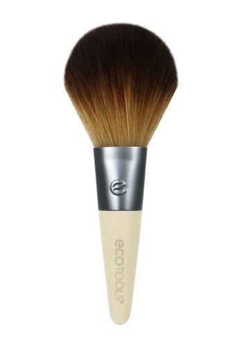 EcoTools brown Eco Tools 1619 Mini Sheer Powder Brush 46BE2BE015F43CGS_1